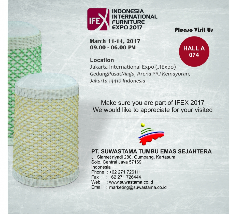 IFEX 2017 Indonesia's Biggest Export Furniture & Craft Exhibition